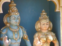 Hindu temple.Kandy