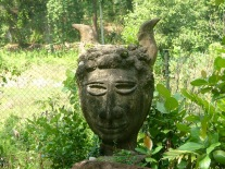 Lunuganga sculpture